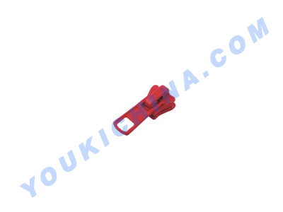 slider for plastic zipper